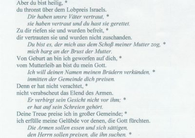 Liederzettel 2