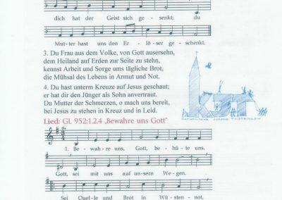 Liederzettel 4
